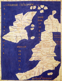 Map of the British Isles by Ptolemy