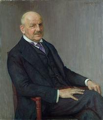 Portrait of Alfred Lichtwark  von Leopold Karl Walter von Kalckreuth
