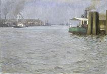 Sunday Atmosphere on the Elbe von Leopold Karl Walter von Kalckreuth