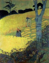 Harvest Scene  by Paul Serusier
