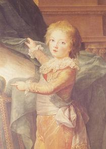 Marie-Antoinette and her Children von Elisabeth Louise Vigee-Lebrun