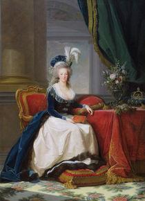 Marie-Antoinette  von Elisabeth Louise Vigee-Lebrun