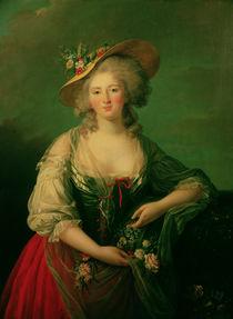 Elisabeth of France  by Elisabeth Louise Vigee-Lebrun