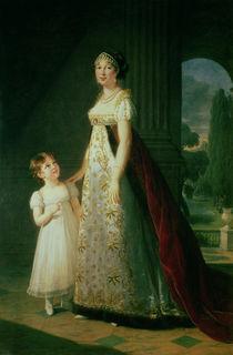 Maria Carolina Bonaparte  by Elisabeth Louise Vigee-Lebrun