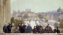 Fragment of the panorama of 'The History of the Century' by Henri Gervex