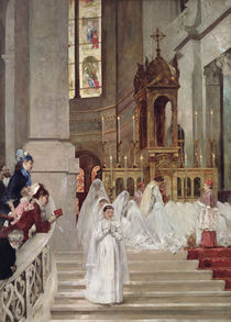 Communion at the Church of the Trinity by Henri Gervex