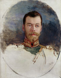 Study for a portrait of Tsar Nicholas II  by Henri Gervex