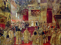 Study for the Coronation of Tsar Nicholas II  von Henri Gervex