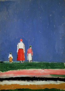 Three Figures by Kazimir Severinovich Malevich