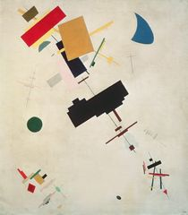 Suprematist Composition No.56 by Kazimir Severinovich Malevich
