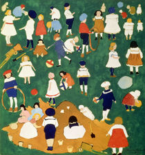 Children by Kazimir Severinovich Malevich