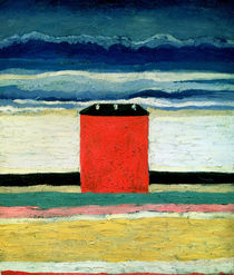 Red House by Kazimir Severinovich Malevich