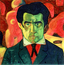 Self Portrait by Kazimir Severinovich Malevich
