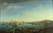The Entrance to the Port of Marseilles von Claude Joseph Vernet