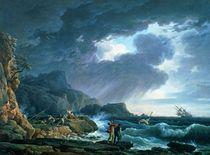 A Seastorm by Claude Joseph Vernet