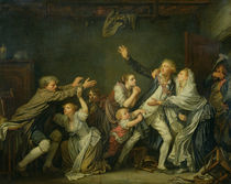 The Father's Curse or The Ungrateful Son by Jean Baptiste Greuze
