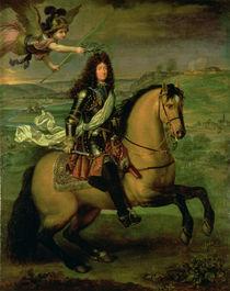 Equestrian Portrait of Louis XIV  by Pierre Mignard