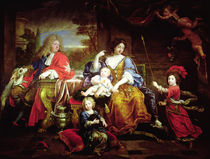 The Grand Dauphin with his Wife and Children von Pierre Mignard