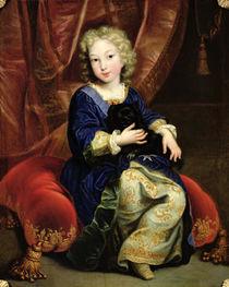 Portrait of Philippe de France  von Pierre Mignard