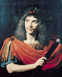 Moliere in the Role of Caesar in the Death of Pompey  von Pierre Mignard