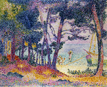 A Pine Grove von Henri-Edmond Cross