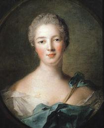 Madame de Pompadour  von Jean-Marc Nattier