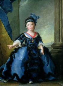 Louis-Joseph-Xavier de France  by Jean-Marc Nattier