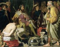 Croesus and Solon von Gerrit van Honthorst