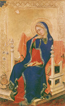 Virgin of the Annunciation  von Simone Martini