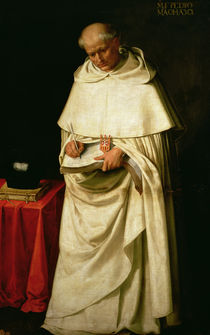 Brother Pedro Machado  von Francisco de Zurbaran