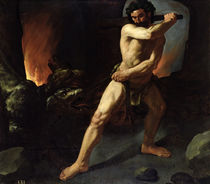Hercules and Cerberus von Francisco de Zurbaran