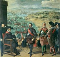 The Defence of Cadiz against the English von Francisco de Zurbaran