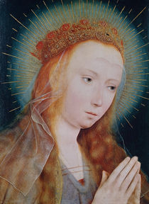 The Virgin at Prayer  von Quentin Massys or Metsys
