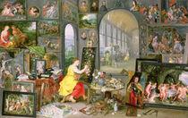 Allegory of Painting  by Jan Brueghel the Elder