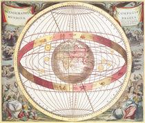 Planisphere von Andreas Cellarius