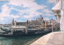 The Grand Canal by Jean-Louis Ernest Meissonier