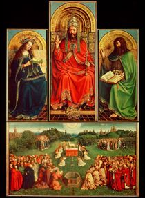 Ghent Altarpiece by Hubert Eyck