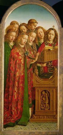 Singing Angels by Hubert Eyck