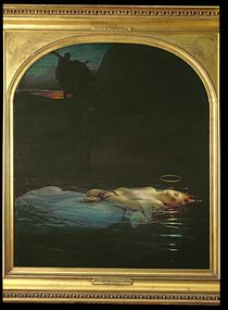 The Young Martyr by Hippolyte Delaroche