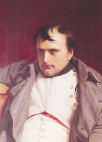 Napoleon  by Hippolyte Delaroche