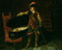 Oliver Cromwell  von Hippolyte Delaroche