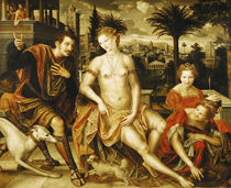 David and Bathsheba by Jan Massys or Metsys