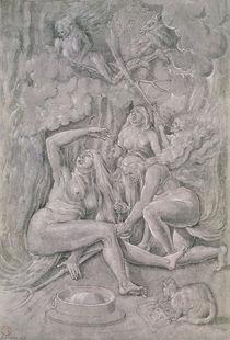 The Witches' Sabbath von Hans Baldung Grien