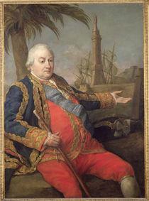 Pierre de Suffren-Saint-Tropez  by Pompeo Girolamo Batoni