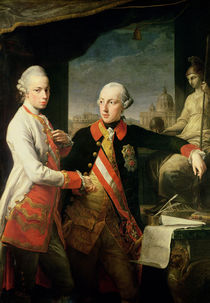 Kaiser Joseph II  von Pompeo Girolamo Batoni