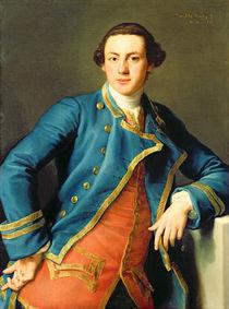 Portrait of Sir John Armytage  by Pompeo Girolamo Batoni