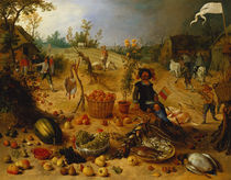 An Allegory of Autumn  von Sebastian Vrancx
