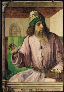 Portrait of Aristotle  by Joos van Gent