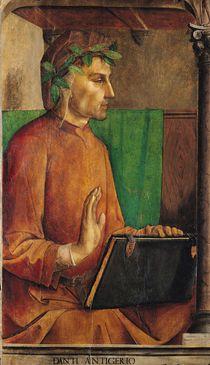 Portrait of Dante Alighieri  by Joos van Gent