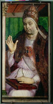 Portrait of Sixtus IV  von Joos van Gent